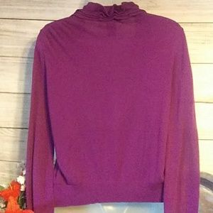 Apostrophe Sweaters - Apostrophe purple sweater